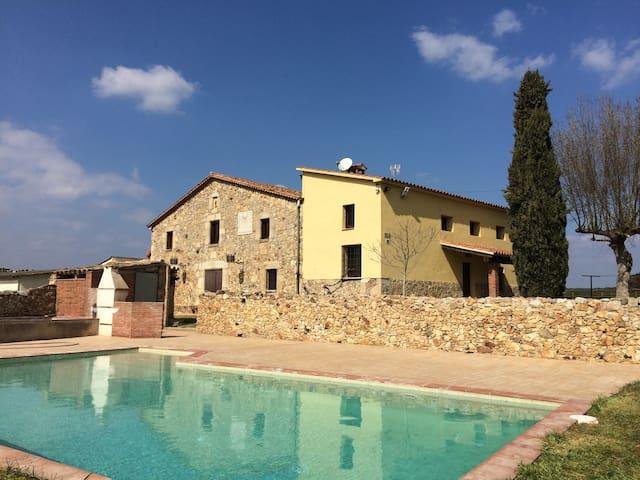 Casa rural en Caldes de Malavella - Caldes de Malavella - Rumah