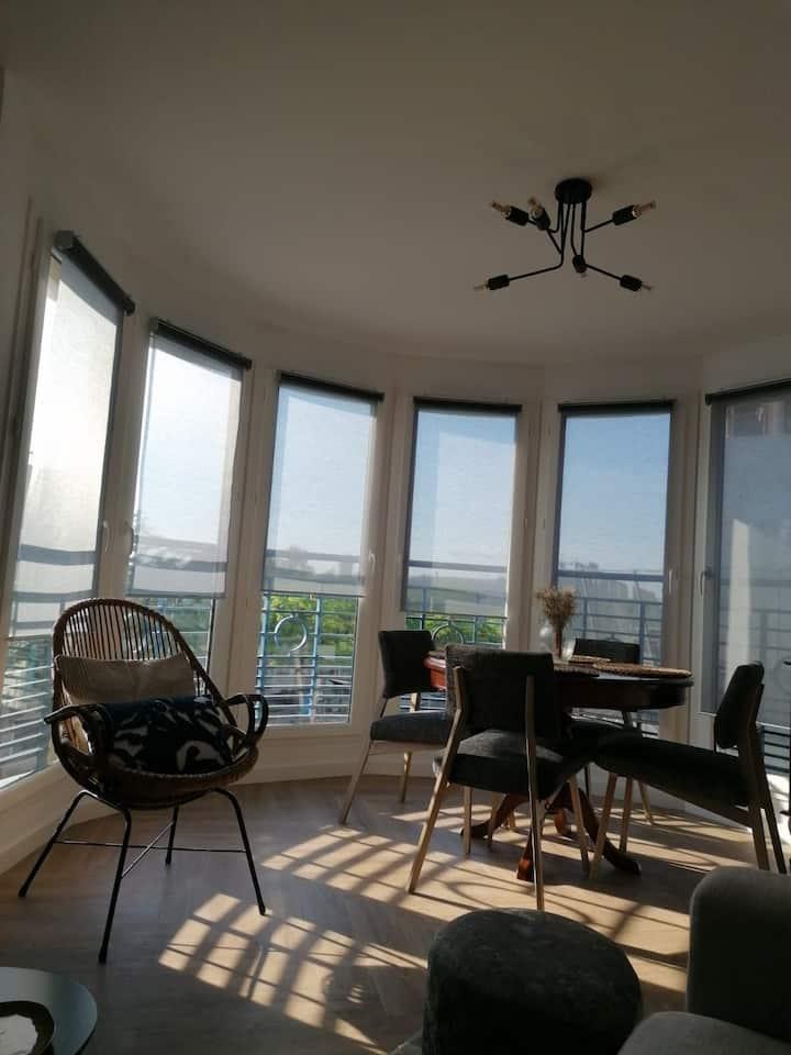 Appartement lumineux à 7min d'Orly et proche Paris