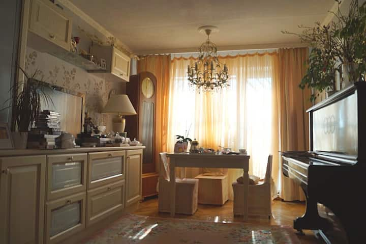 Beautiful two rooms close to St Petersburg