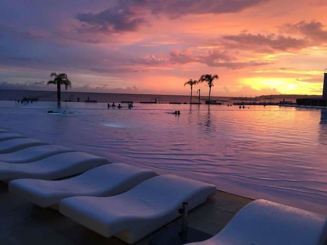 BEACHFRONT condo at Nuevo Vallarta, 2 pools w rest