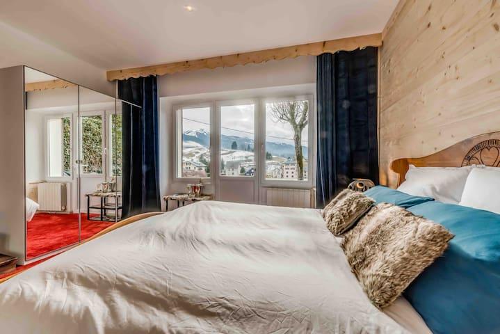 """APPART'HOTEL """"PRANA LODGE"""" vue sur les montagnes"""