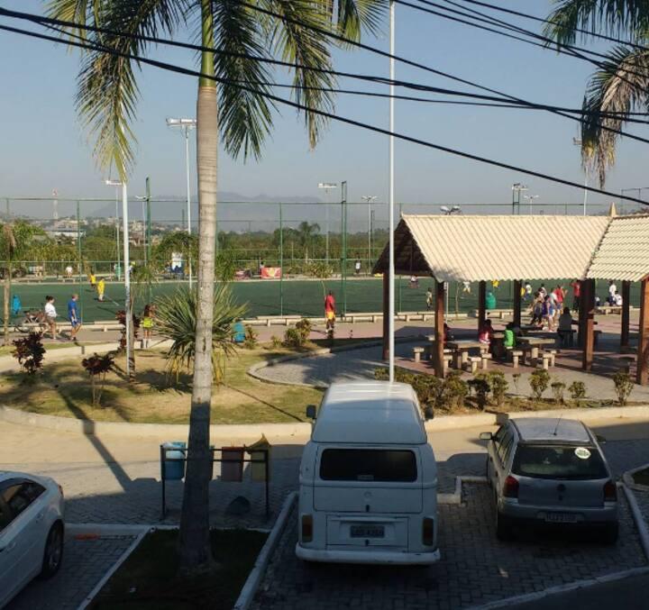 Green house, seguro e fácil transporte D. Caxias 1