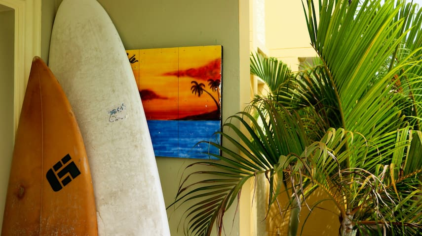 Two surfboards for your enjoyment