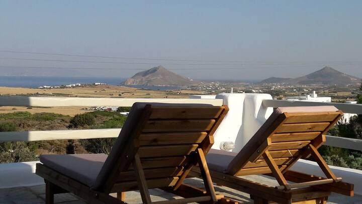 Isterni Studio Casa Elefina with sea views Paros