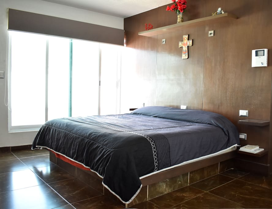 dormitorio 1 cama king size