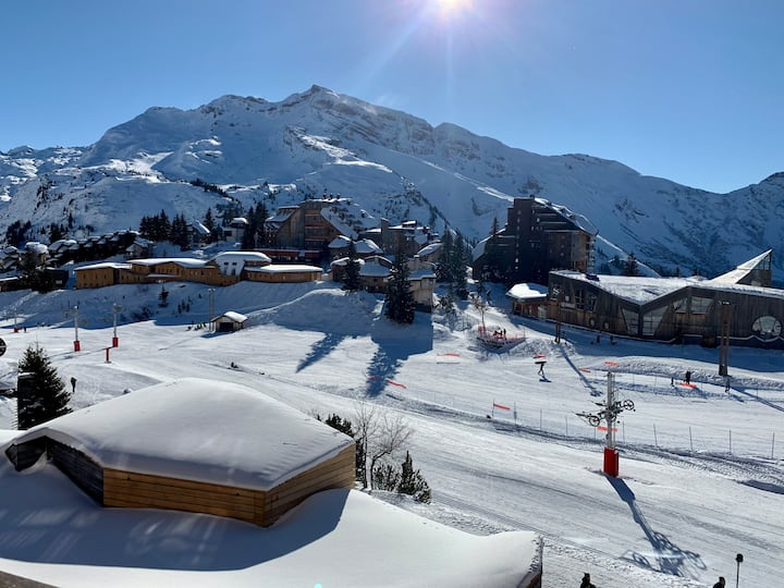 NEW Apt  6 pers centre AVORIAZ FONTAINES BLANCHES