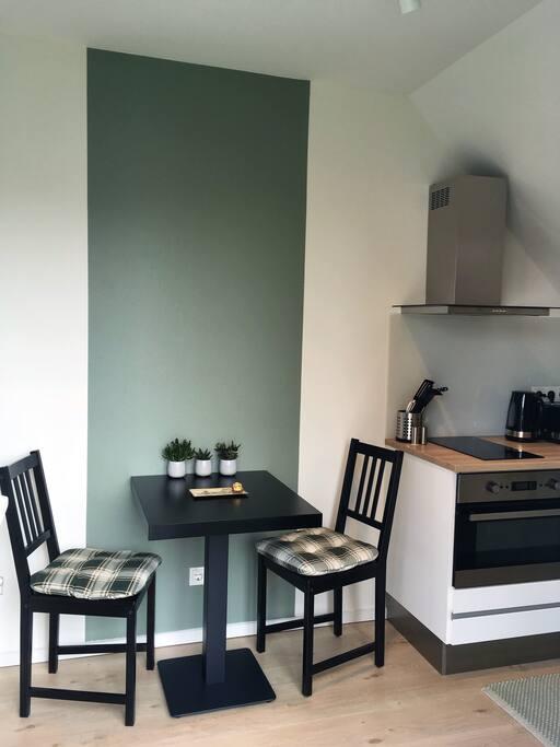 Sitzbereich in der Küche