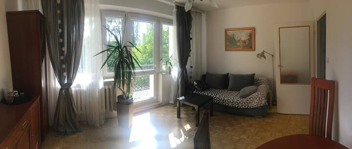 Warszawa Apartament w zielonym zakątku