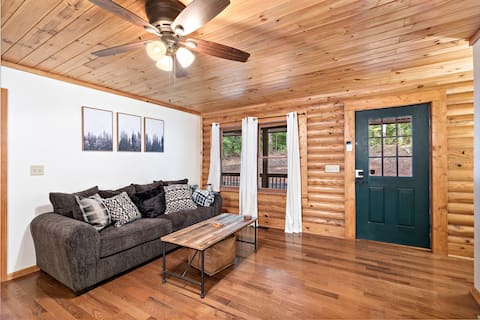 Cabin In The Woods - Log Cabin, 3 Secluded Acres