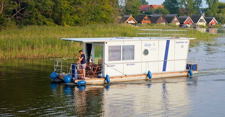 Barrierefreies Hausboot Febomobil 990