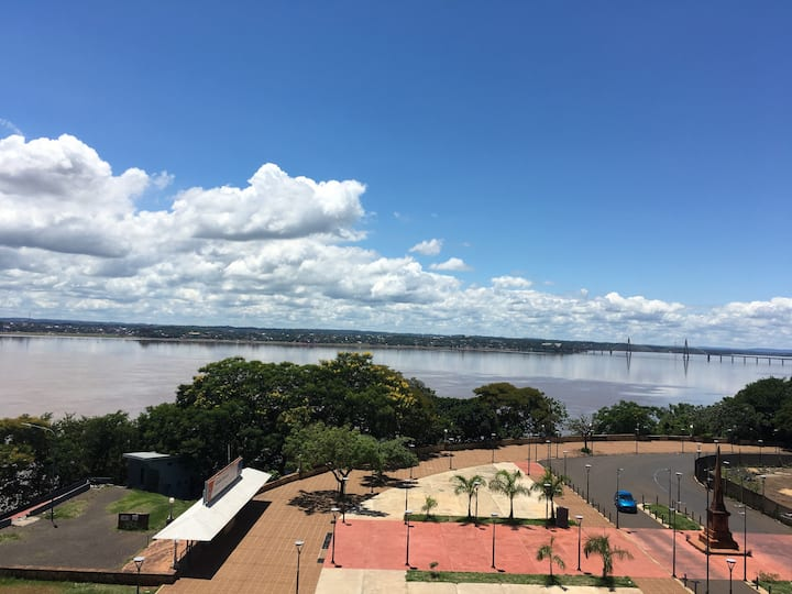 Espectacular Vista al Rio Paraná