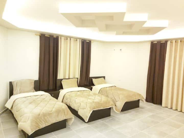 Triple room with share bathroom