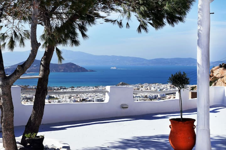 Eye of Naxos. Unique view &Privacy! - naxos town