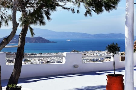Eye of Naxos. Great view & Privacy! - naxos town
