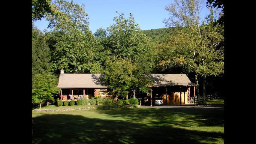 Catskills summer get-away Cabin (Main House)