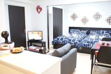 0 min to Amemura Locate central of Namba+Free WIFI - Apartment