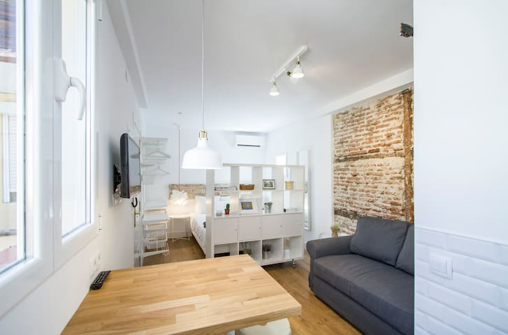 Charming loft in the center of Madrid