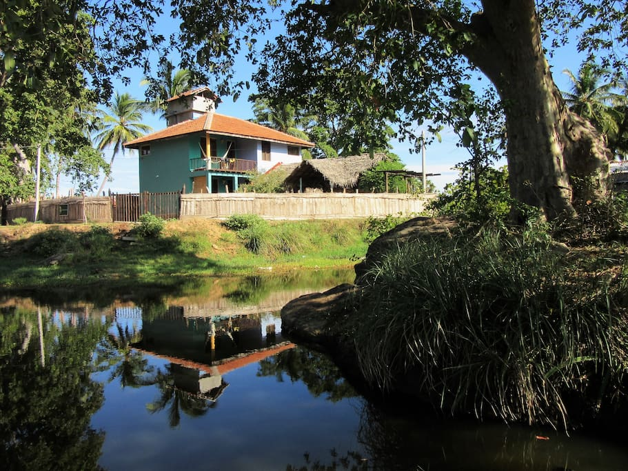 The house from the river