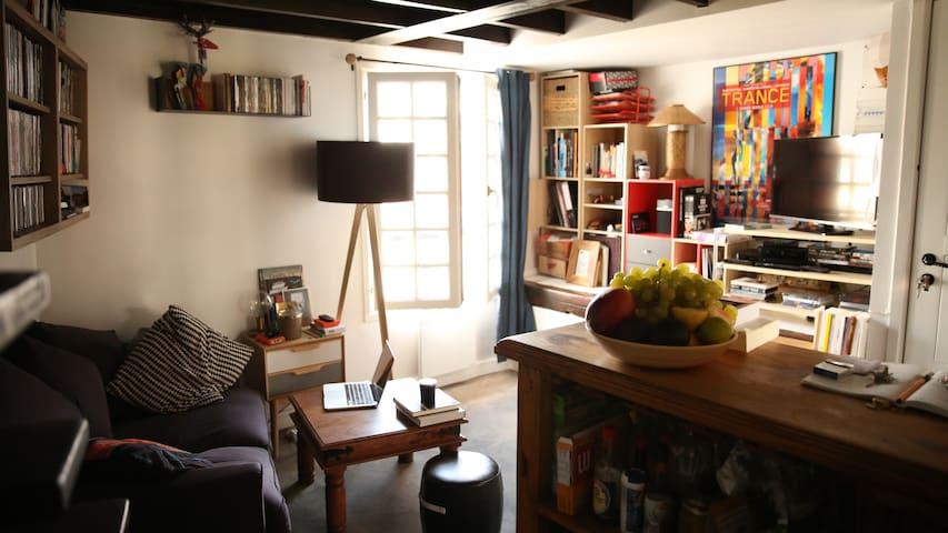 Charmant appartement au coeur de Paris