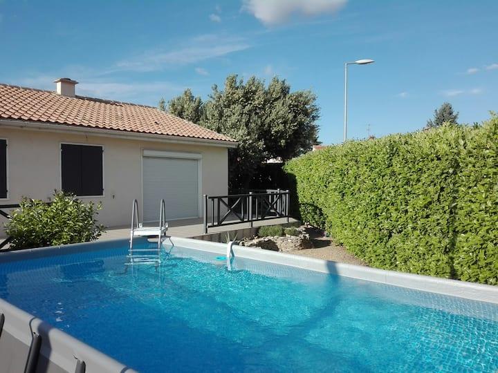 Magnifique villa dans environnement calme