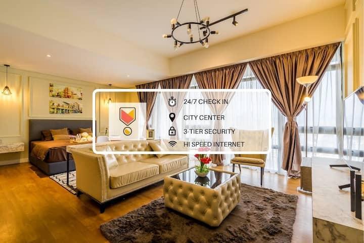 [NEW] Elegant Studio + WiFi / KLCC City View