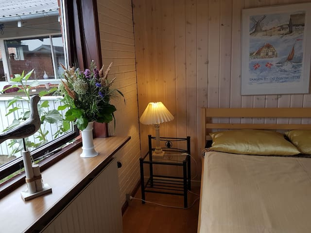 Most Northern private Skagen accomodation (Room 2)