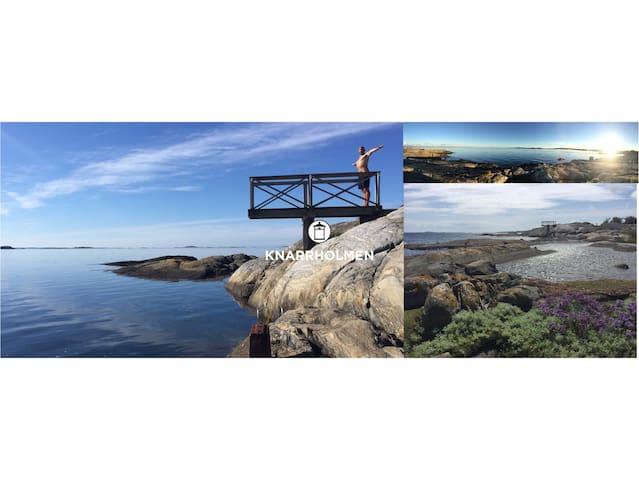 Knarrholmen-Archipelago  10min from Gothenburg - Göteborg - Ev
