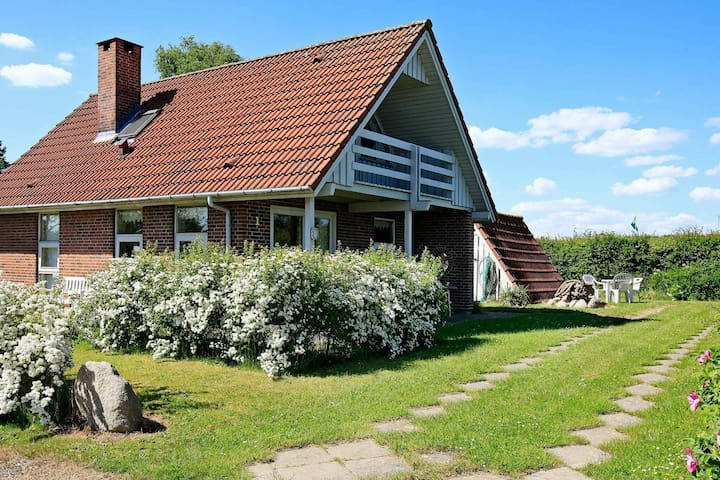 Spacious Holiday Home in Hesselager with Terrace