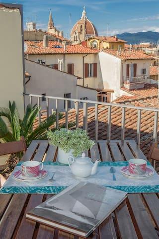 Alloggio fino a 35p in pieno centro - Florença - Apartamento