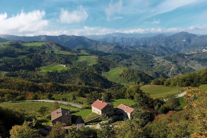 Terrazza sul Parco (La Legnaia) - Bagno di Romagna - Huis