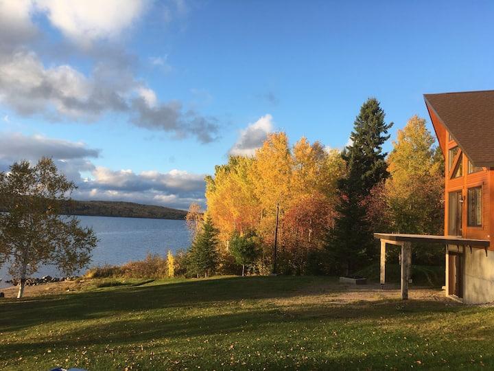 Superbe chalet au Lac St-Jean