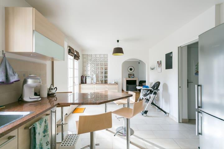 Maison avec jardin, bords de Marne - Bry-sur-Marne