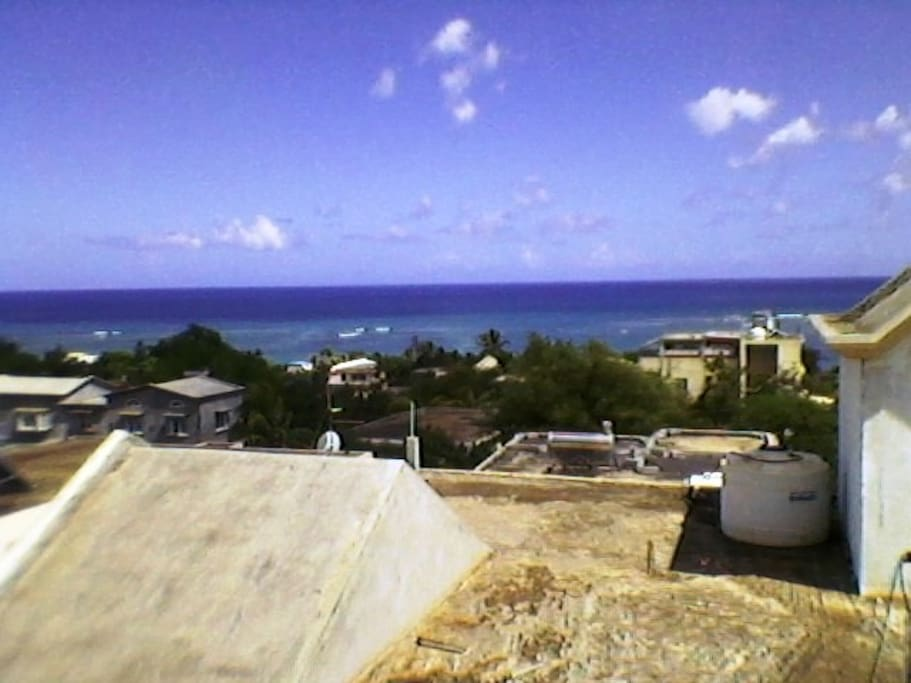 Seaview from the roof