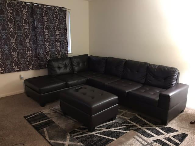 Private, quiet, comfortable 1 bedroom apartment.