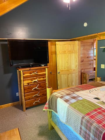 First upstairs bedroom