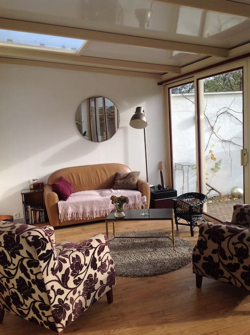 Sitting area in the sun room