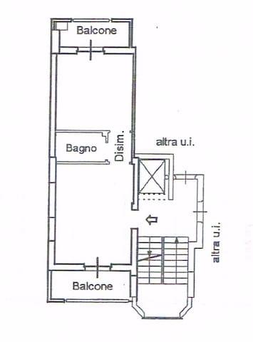 Bilocale intero a Casamassima via Madrid - Casamassima - Apartment