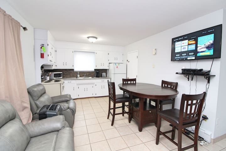 Downtown Charlottetown 1 bedroom apartment