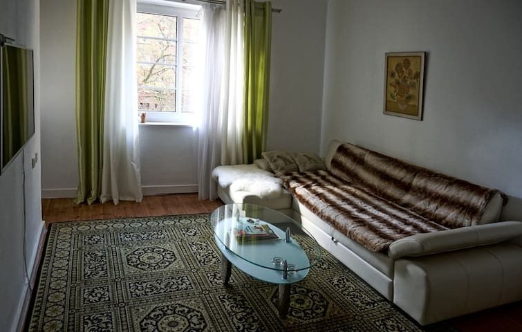 large room with balcony in downtown - Hamburgo - Apartamento