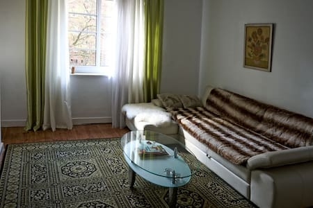 large room with balcony in downtown - Hamburg - Byt