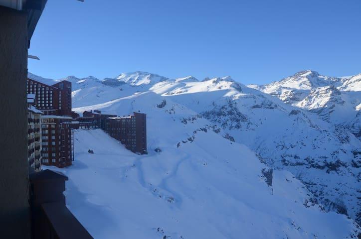 Departamento Valle Nevado (2D/2B) Ski in/ski out.