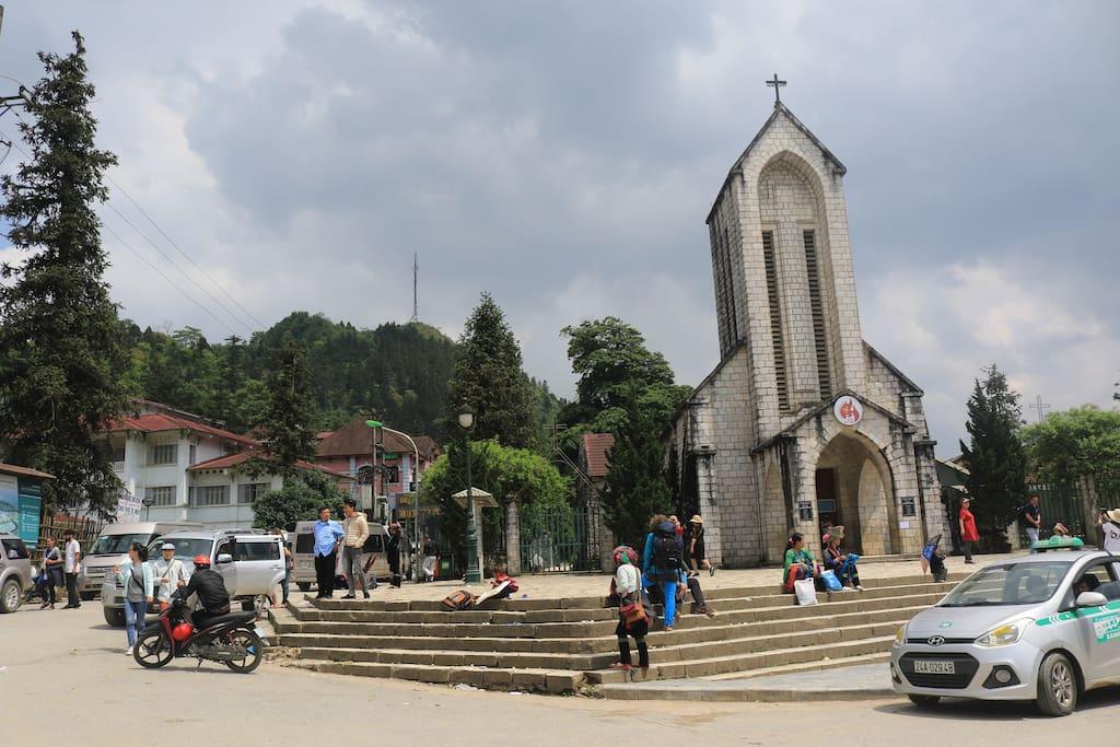Sapa Stoned Church