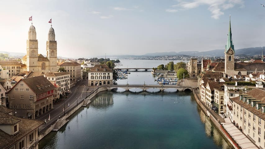 Cosy & chic apartment, that is perfect for you! - Zürich - Appartement