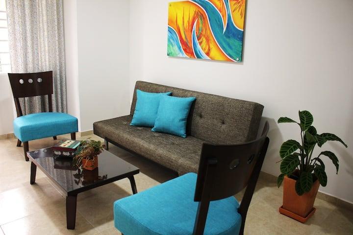 Moderno, cómodo e independiente apartaestudio 3.