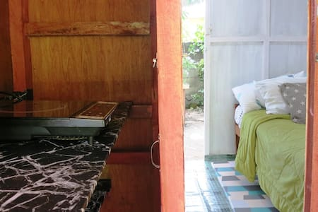 Tiny House at Davao de Oro-Wifi, Kitchen, WashingM