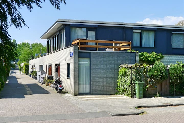 Full modern VILLA/house in Amsterdam CITY!