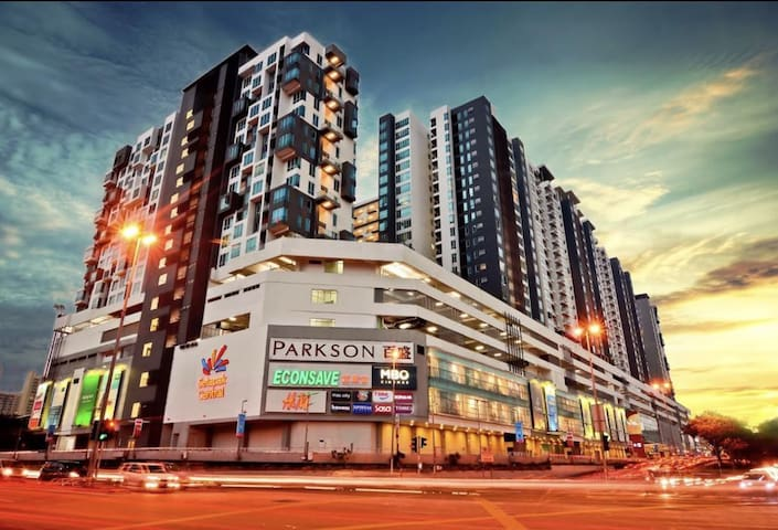 My place is just above the setapak central mall