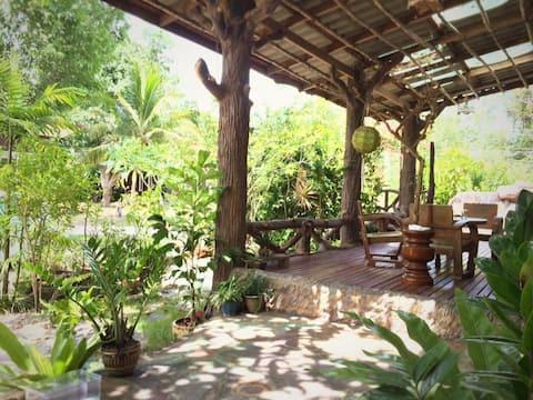 Cozy duplex cottage surrounded by nature