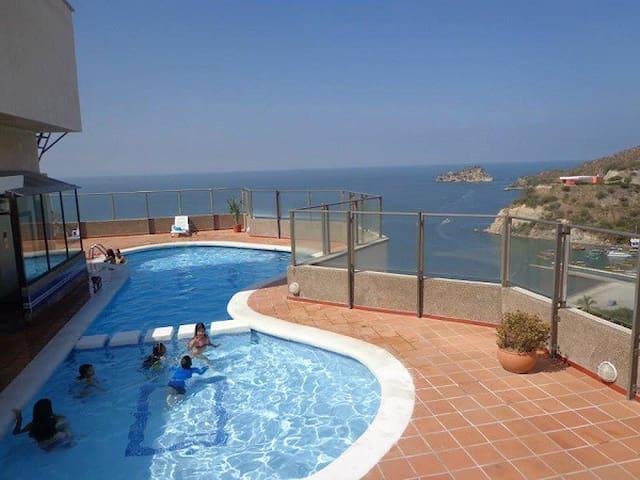 apartamento excelente en el rodadero santa marta - Santa Marta - Apartmen