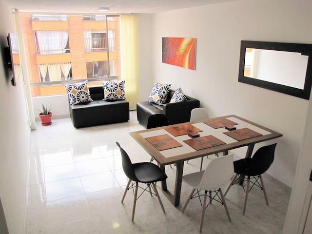 Apartamento cerca al Aeropuerto, cómodo y acogedor